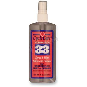 Formula 33 Spray and Wipe®, Dry Detailer and Bug Remover - 33004