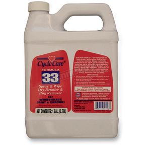 Cycle Care Formulas Formula 33 Spray and Wipe®, Dry Detailer and Bug Remover - 33128