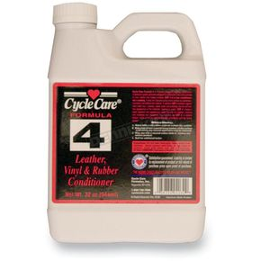 Cycle Care Formulas Formula 4 Leather, Vinyl and  Rubber Conditioner - 04032