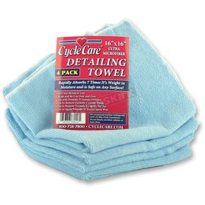 Light Blue Microfiber Towel - 88016