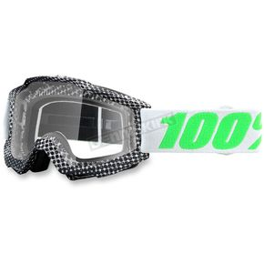 100% Newsworthy Gray Accuri Goggle w/Clear Lens - 50200-163-02