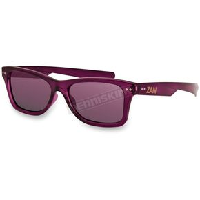 Bobster Wine Trendster Sunglasses w/Smoked Purple Mirror Lens - EZTN04
