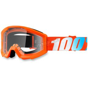 100% Youth Orange Strata Goggle w/Clear Lens - 50500-006-02