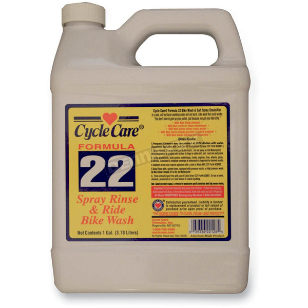 Cycle Care Formulas Formula 22 Spray, Rinse and Ride® Cleaner - 22128