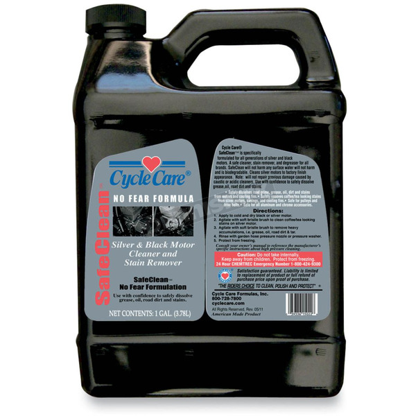 Cycle Care Formulas Safe Clean Silver and Black Engine Cleaner - 15128