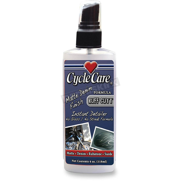 Cycle Care Formulas Ruff Cutt Spray and Wipe Instand Cleaner and Detailer for Denim Finish - 38004