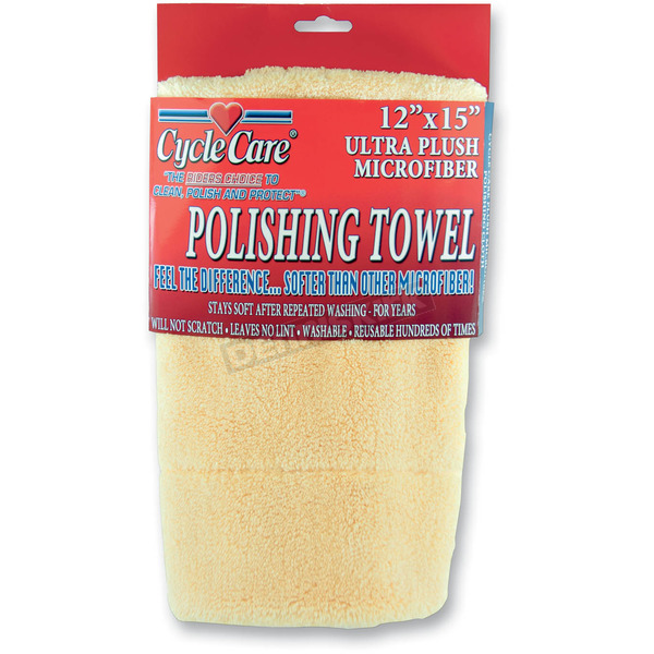 Cycle Care Formulas Plush Polishing Towel - 88011