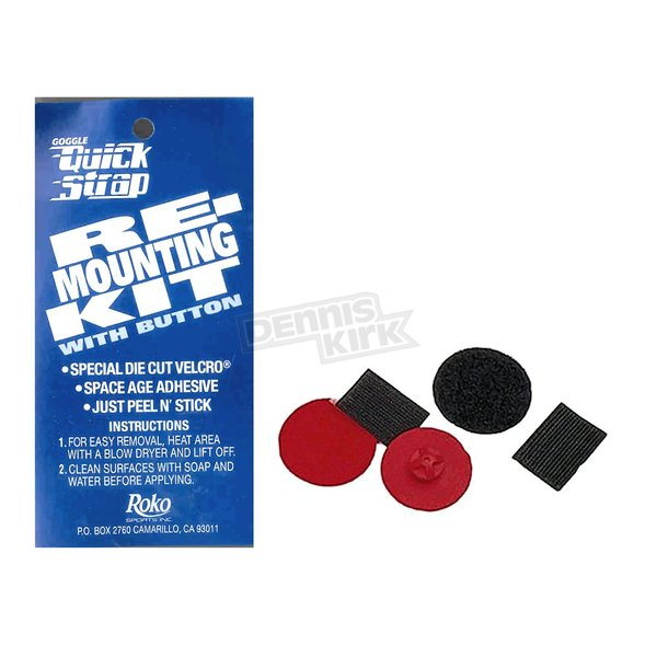 Roko Sports Red Quick Strap Remount Kit  - RB-10