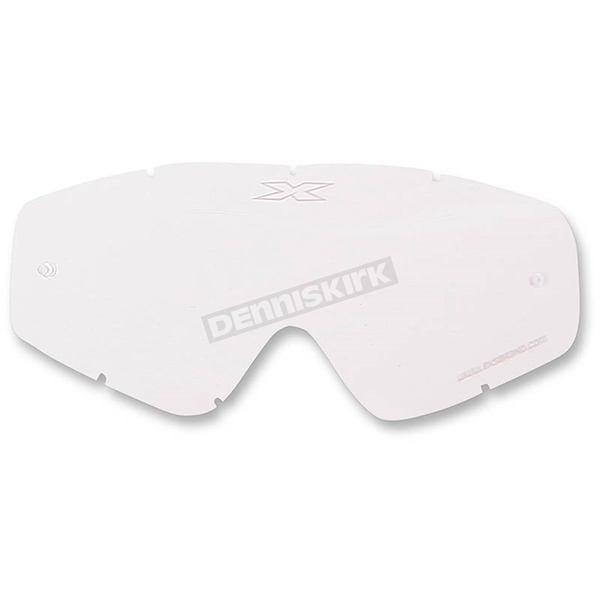 EKS Brand Clear GOX Single Pane Anti-Fog Lens - 067-40100