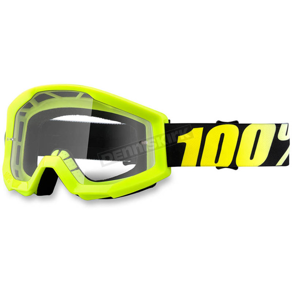Neon Yellow Strata Goggle w/Clear Lens - 50400-004-02