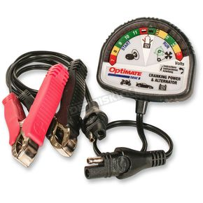 Tecmate Optimate Test TS121 Battery and Charging System/Alternator Tester - TS-121