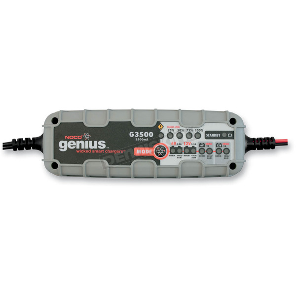NOCO 3500 mA 6V-12V Genius Battery Charger - G3500