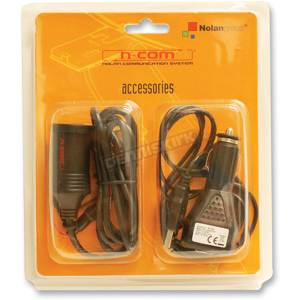 Nolan Optional 12V-to-USB Biker Charger - NOCOM00000002