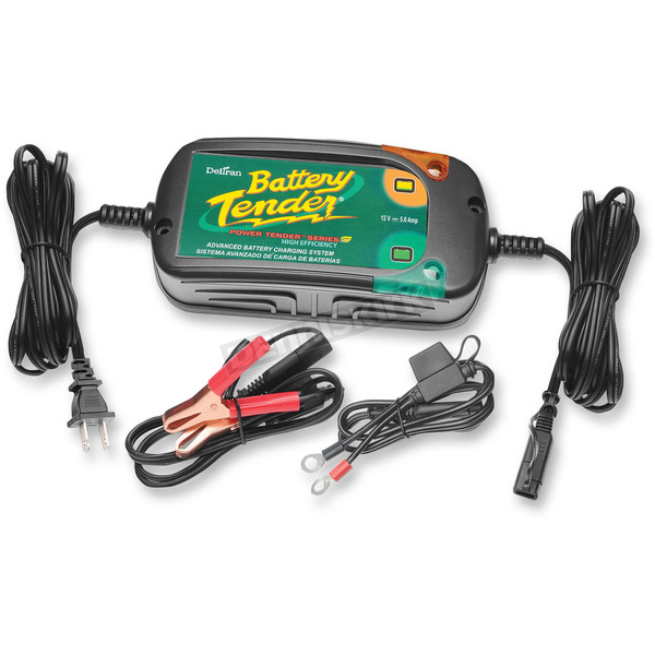 Battery Tender High Efficiency 5A Battery Tender  - 022-0186G-DL-WH