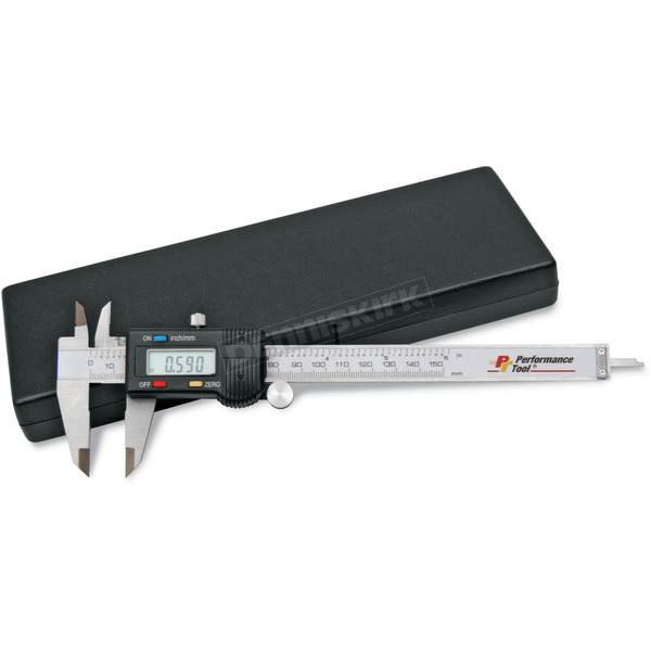 Performance Tool Digital Caliper with Case - W80152