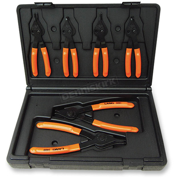 Lang Tools 6pc Snap Ring Plier Set - 3497