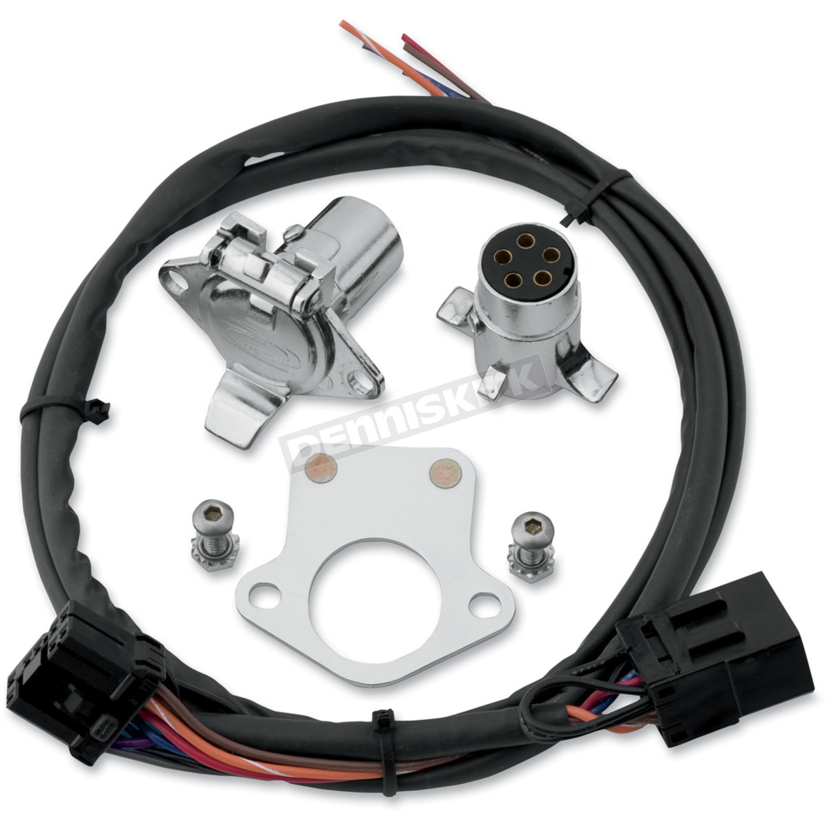 Khrome Werks 5-Pin Connector Kit w/Wiring Harness - 720585 Harley-Davidson  Motorcycle | Dennis KirkDennis Kirk