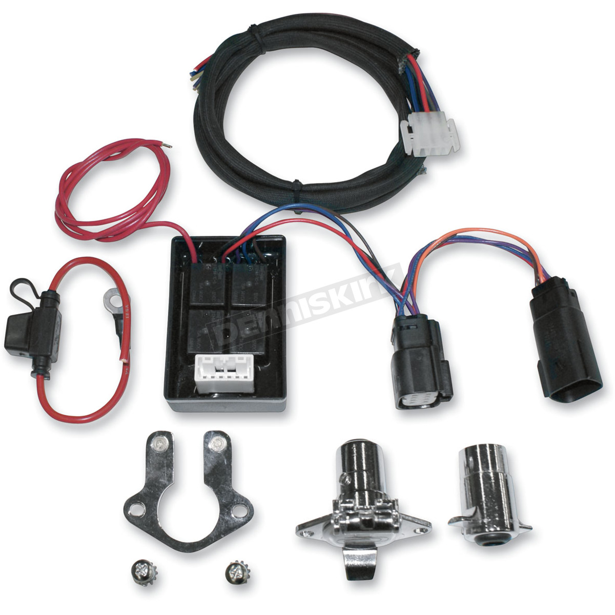 39020084 khrome werks plug and play trailer wiring connector kit w isolator