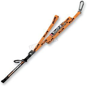 Orange/Black M1 Worx Tie-Downs - M1-106