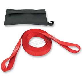 Powertye Red Tow Strap w/Pouch - 41151-P