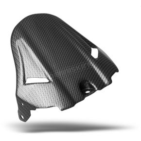 Maier Rear Gloss Carbon Fiber Look Black Hugger Fender - 05947