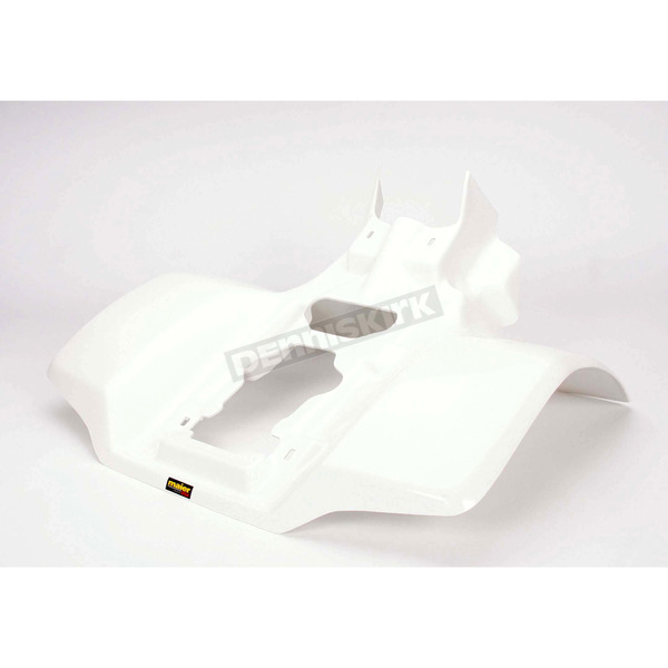 Maier White ATV Rear Fender - 177751