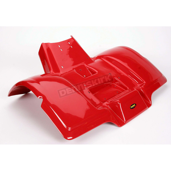 Maier ATV Red Rear Fender without Trunk - 119502
