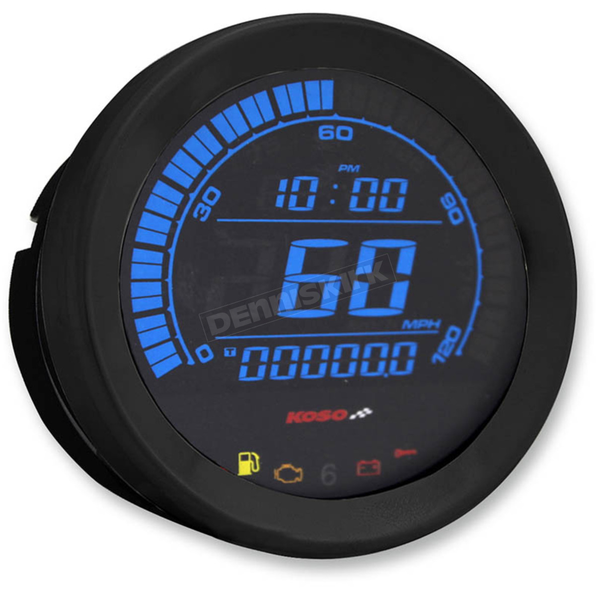 Black 4 in  Speedometer - BA051010