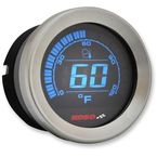 Silver 2 in. Ambient Air Temperature Gauge  - BA050000
