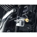 Chrome Universal Helmet Lock for 1 1/4