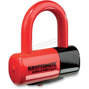 Kryptonite Red Evolution Series 4 Disc Lock  - 720018-999621