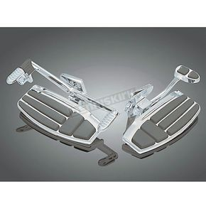 Kuryakyn Chrome Driver Floorboard Kit - 4038