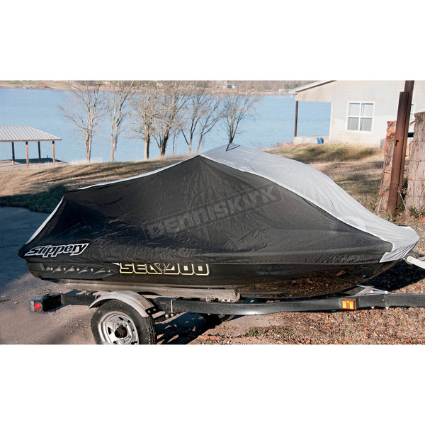 Slippery Black/Gray Watercraft Cover - 40040032