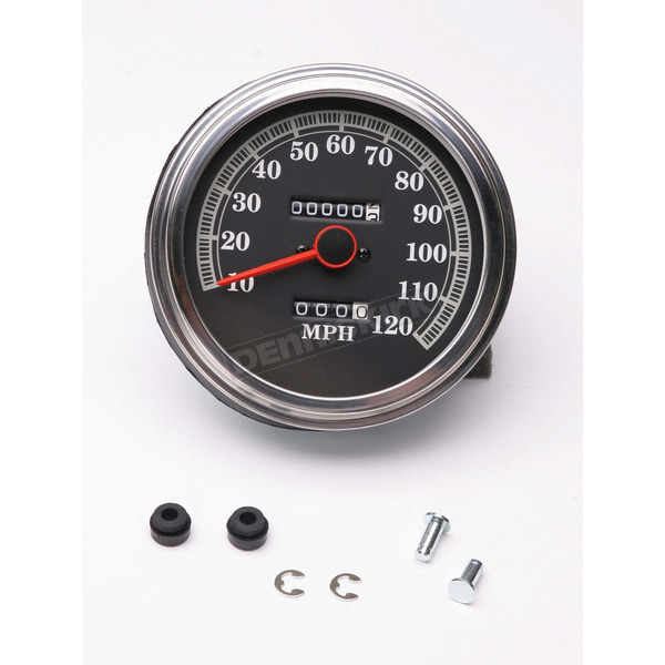 Drag Specialties 2240:60 FL-Style Speedometer - DS-243844