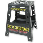 Matte Black Powder-Coat Advocate MX Rockstar MX Stand - 94-6012