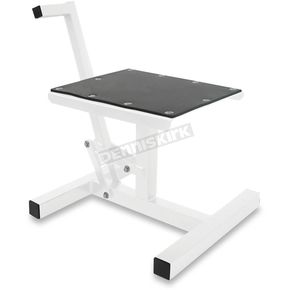Motorsport Products White MX Steel Lift Stand - 92-6008