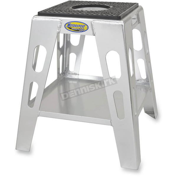 Motorsport Products Silver Anodized MX4 Stand - 94-5001