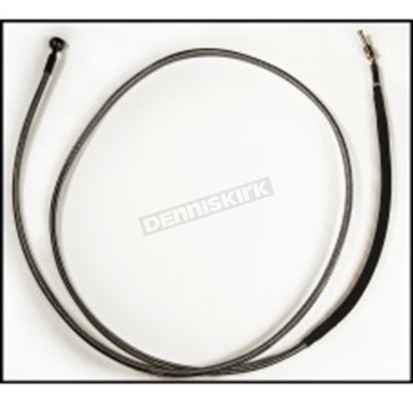 Magnum Black Pearl Designer Series Custom 66 in. Hydraulic Clutch Line w/90 Degree Top Angle - 41666