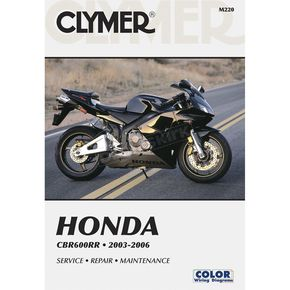 Clymer Honda Repair Manual - M220