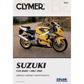 Clymer Suzuki Repair Manual  - M264