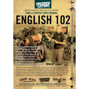 Lowbrow Customs English 102 Triumph DVD  - 000753