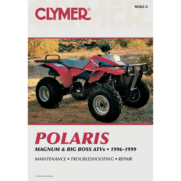 Clymer Polaris Repair Manual - M362-2