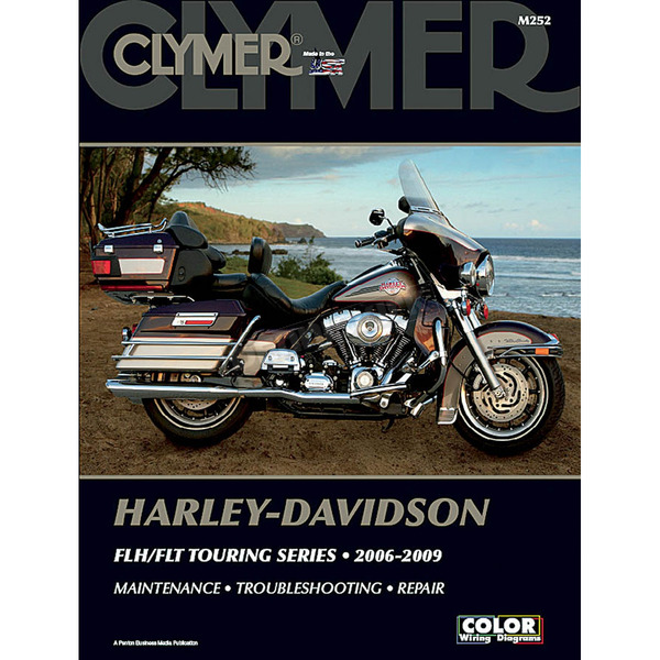 Clymer Motorcycle Repair Manual - M252