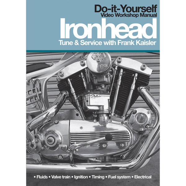 Lowbrow Customs Ironhead Tune and Service DVD with Frank Kaisler - 001547