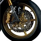 Sport Bike Black Wheel Trim Decal Kit - 60608
