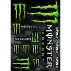 Monster Energy Sticker Sheet - 17-68020