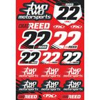 Chad Reed Sticker Sheet - 17-68800