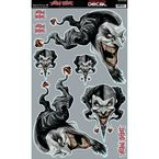 Jester Skull Decal Set - QK10006