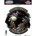 Freedom Will Prevail Decal Set - LT90687