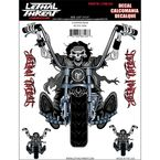 Chopper Ride Decal Set - LT88103